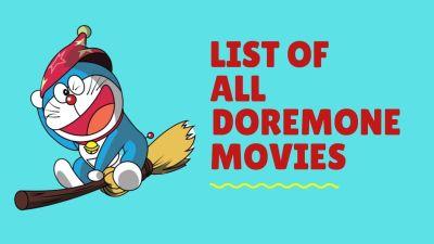 List of All Doraemon movies