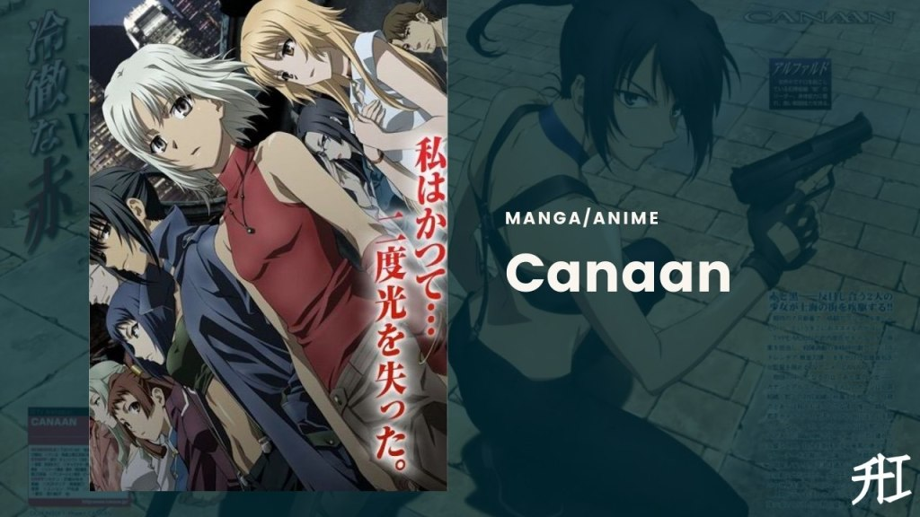 Canaan - Top 22 Best Yuri Anime To Watch !! 2021