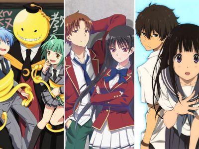 Top 15 Anime/Manga like The Classroom of The Elite