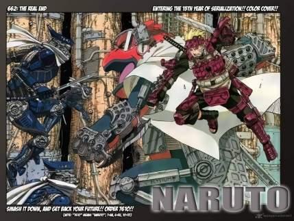 Naruto Color Manga