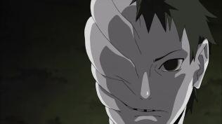 White Half Face
