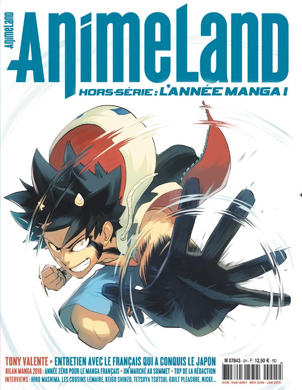 AnimeLand Hors-série manga 01