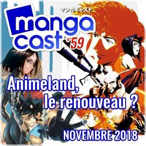 AnimeLand a l'honneur du n°59 de Mangacast