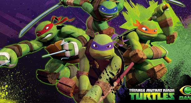 As Tartarugas Ninja estreia no Band Kids!