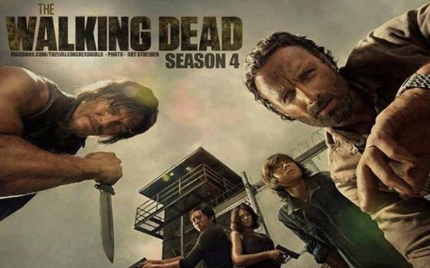 Novos comerciais da quarta temporada de The Walking Dead!