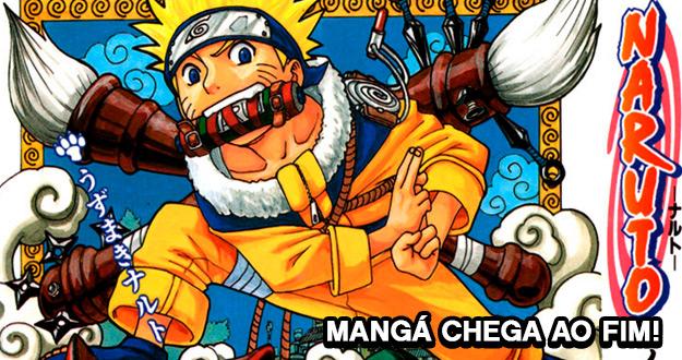 Naruto | Mangá termina em Novembro!