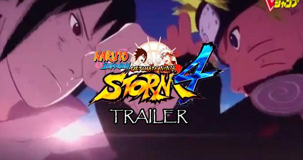 Naruto: Storm 4   Primeiro trailer divulgado!