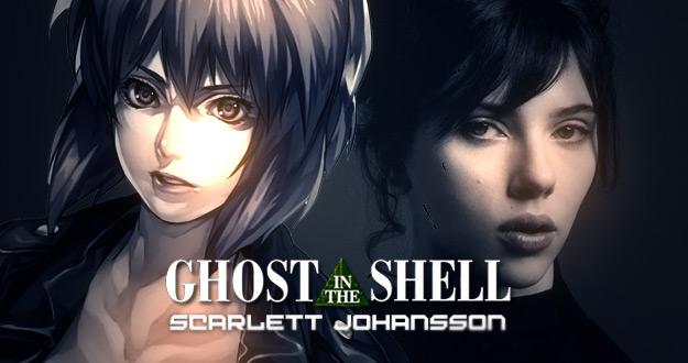 Ghost in the Shell - Scarlett Johansson confirmada no filme!