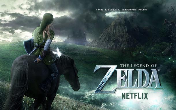 Netflix planeja série de Legend of Zelda!