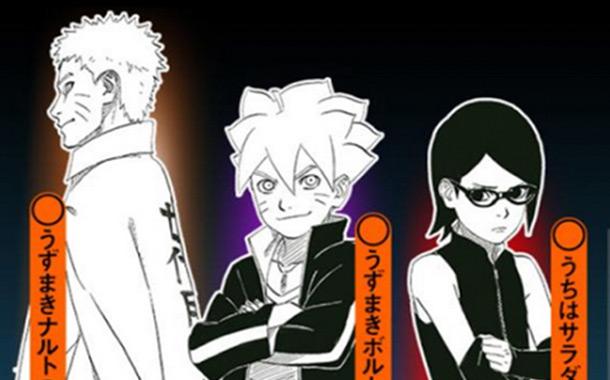 Naruto – Primeira imagem da 3ª fase!