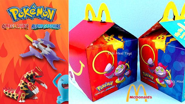 Pokémon é o novo brinde do McLanche Feliz