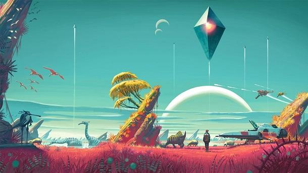 No Man´s Sky´s terá 18 QUINTILHÕES de planetas em 6gb de espaço