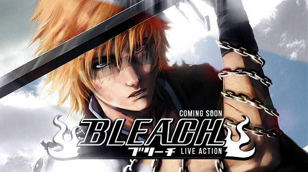 Mangá de Bleach ganha filme em Live-Action!