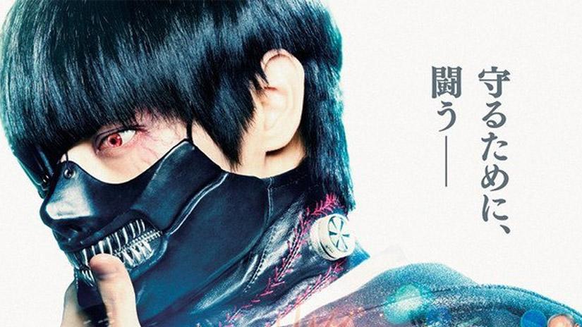 Trailer completo do Live-action japonês Tokyo Ghoul!