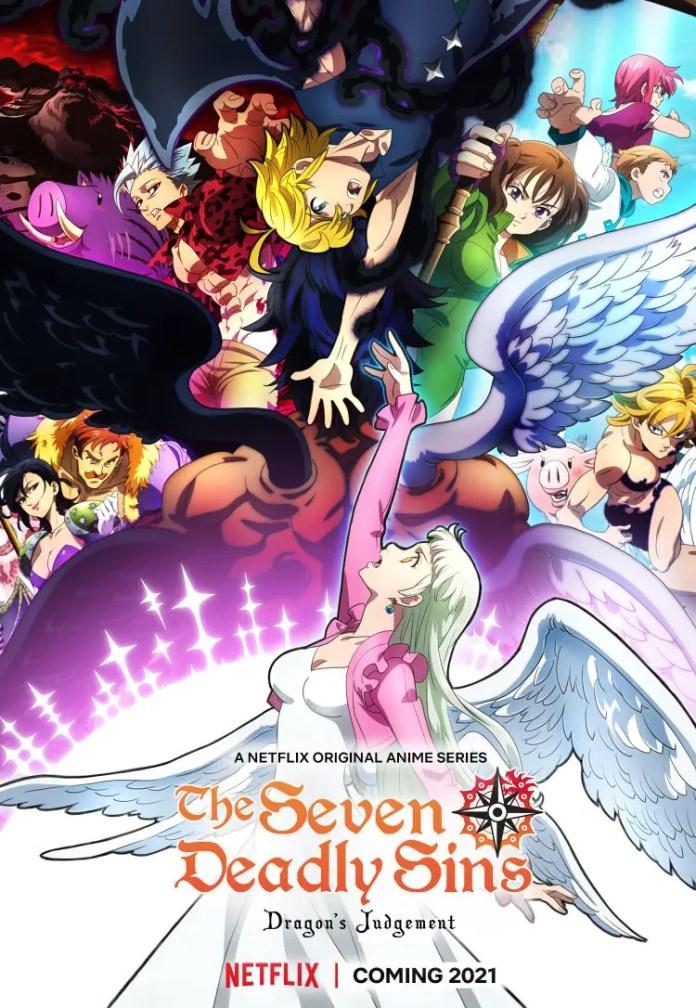 Seven Deadly Sins: Dragon's Judgement Key Visual