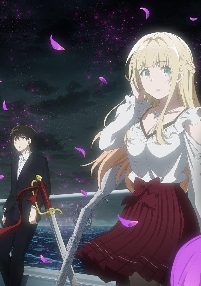 Anime Tantei wa mou Shindeiru Visual