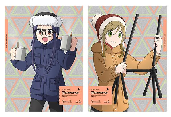 yuru camp△ bundle volume 2 2