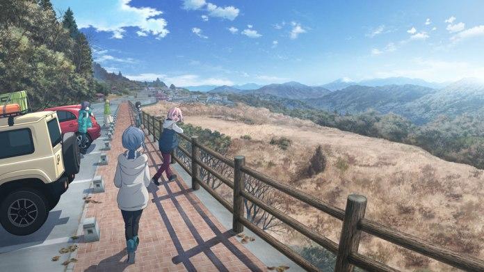 Anime Yuru Camp△ Movie Visual