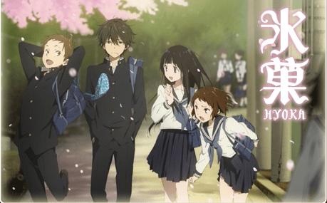「氷菓」をアニメを見始めたおっさんが見てみた!【感想・評価★★★★★】 #氷菓 #千反田える #アニメ
