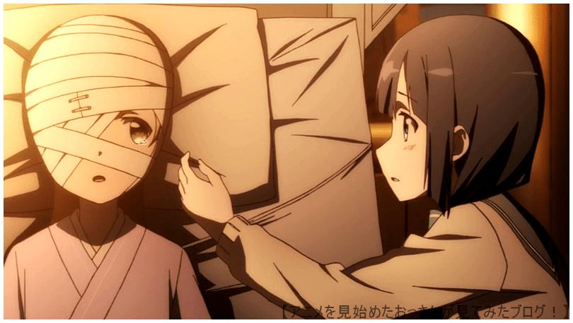包帯の少女「乃木 園子」と東郷 美森の関係 【面白い】「結城友奈は勇者である」をアニメを見始めたおっさんが見てみた!【評価・感想・レビュー★★★★☆】 #結城友奈は勇者である #ゆゆゆ