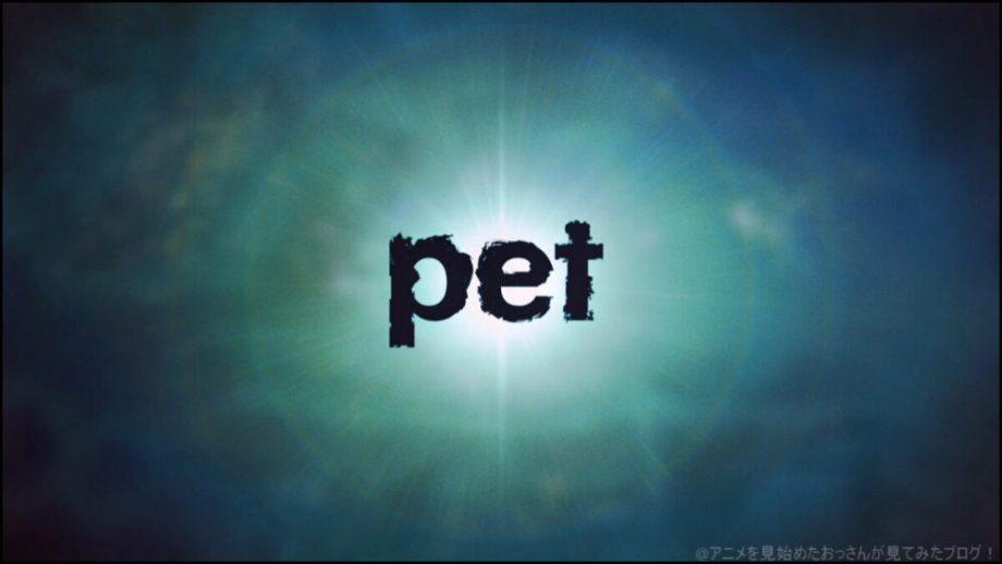 pet(ペット) アニメ は面白い?つまらない? 難しい?レビュー感想評価 :★★★★☆ 【面白い】「pet(ペット)」をアニメを見始めたおっさんが見てみた!【評価・レビュー・感想★★★★☆】#pet_anime #pet