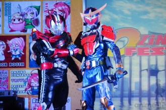 DENGGOY RETURNS: The famous tokusatsu cosplayer is once again back on stage.