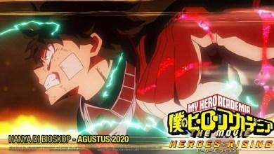 Photo of Boku no Hero Academia the Movie 2: Heroes:Rising Dijadwalkan Ulang untuk Tayang di Bioskop Indonesia pada Bulan Agustus