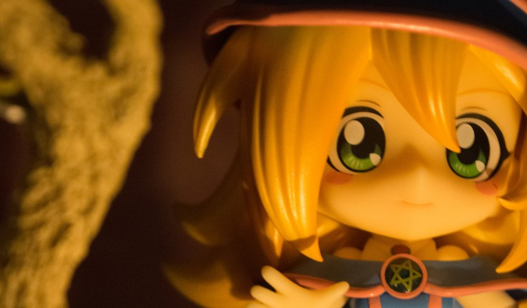 Figure Review: Cu-Poche Dark Magician Girl