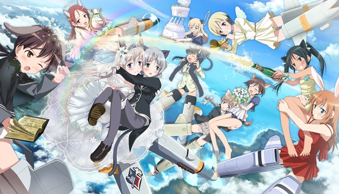 Strike Witches BD Subtitle Indonesia Batch