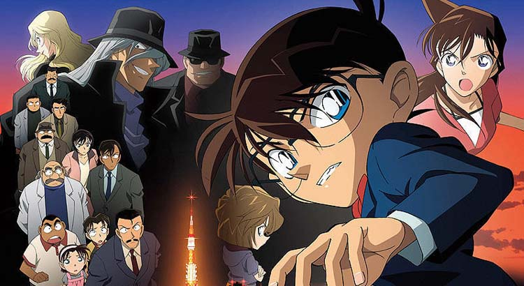 Detective Conan Movie 13 The Raven Chaser BD Subtitle Indonesia