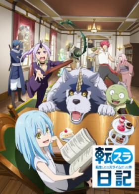 انمي Tensura Nikki Tensei shitara Slime Datta Ken الحلقة 1 مترجمة اون لاين
