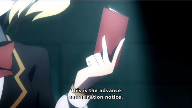 Advance Assassination Notice