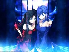 Konachan.com - 30576 fate_hollow_ataraxia fate_stay_night matou_sakura tohsaka_rin
