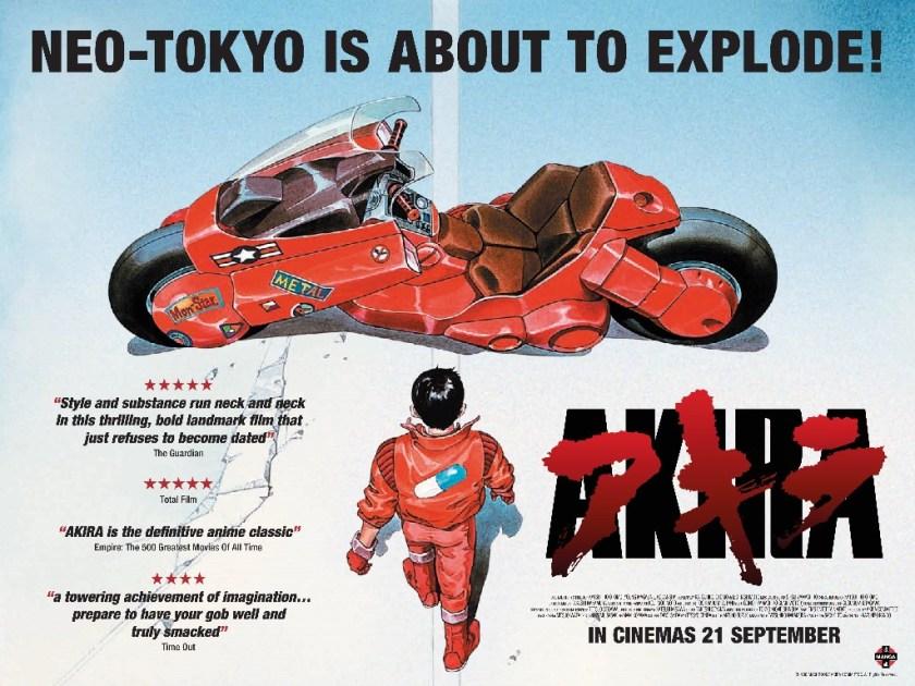 Akira Movie Poster 2016