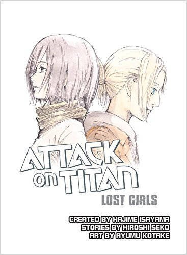 Attack on Titan Lost Girls novel