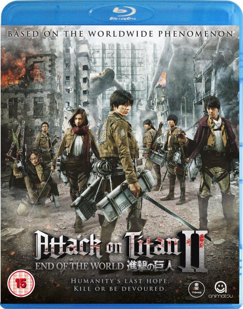 Attack on Titan the Movie Part 2