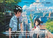 Your Name English Dub Revealed, New UK Theatrical Screenings & More!