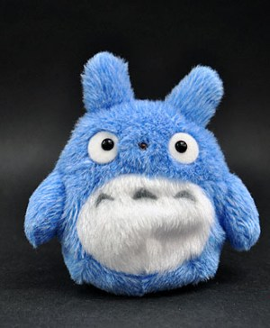 My Neighbor Totoro Blue Totoro Small Beanbag Plush