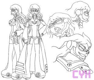 Cyx (CV: Tamura Mutsumi)