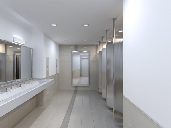 Bronze And Silver Bathroom Accessories