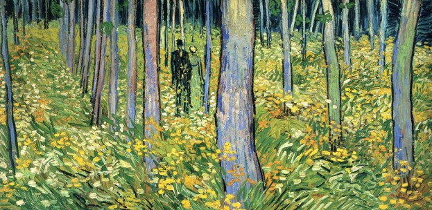 Undergrowth With Two Figures- Vincent Van Gogh