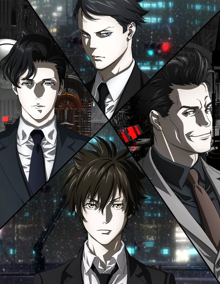 Affiche officielle pour le film Psycho-Pass 3 : First Inspector