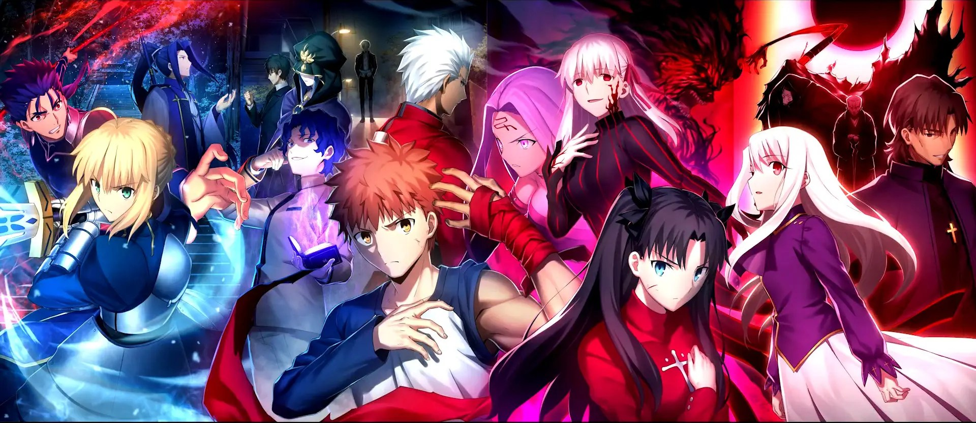 Illustration pour le film Fate Stay Night Heavens Feel 3 Spring Song