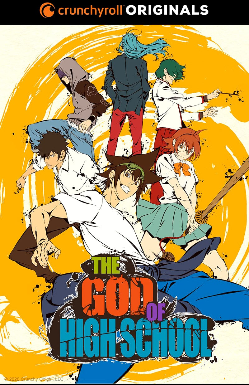 Visuel clé pour l'anime The God of High School