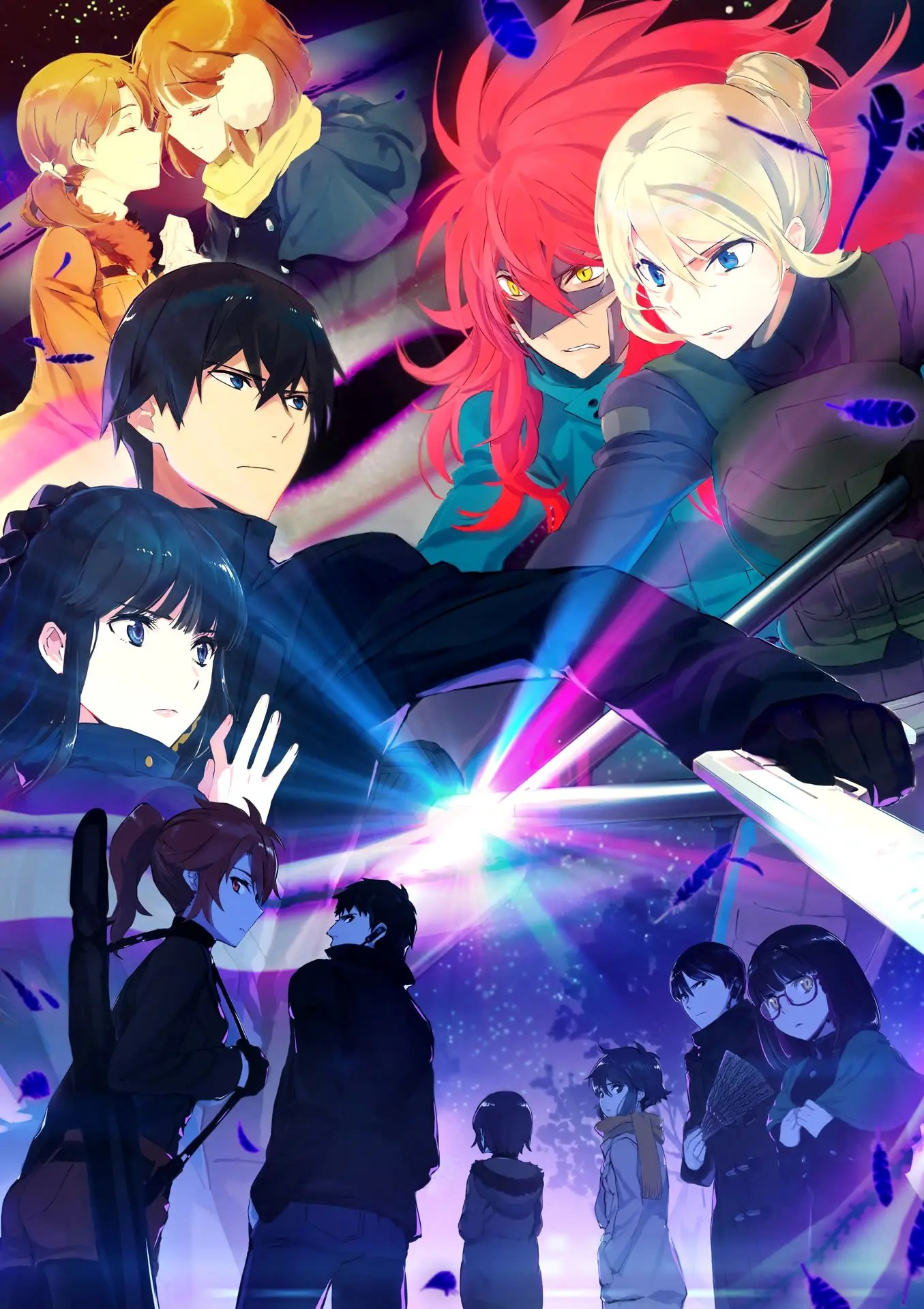 Visuel clé pour la saison 2 de l'anime The Irregular at Magic High School