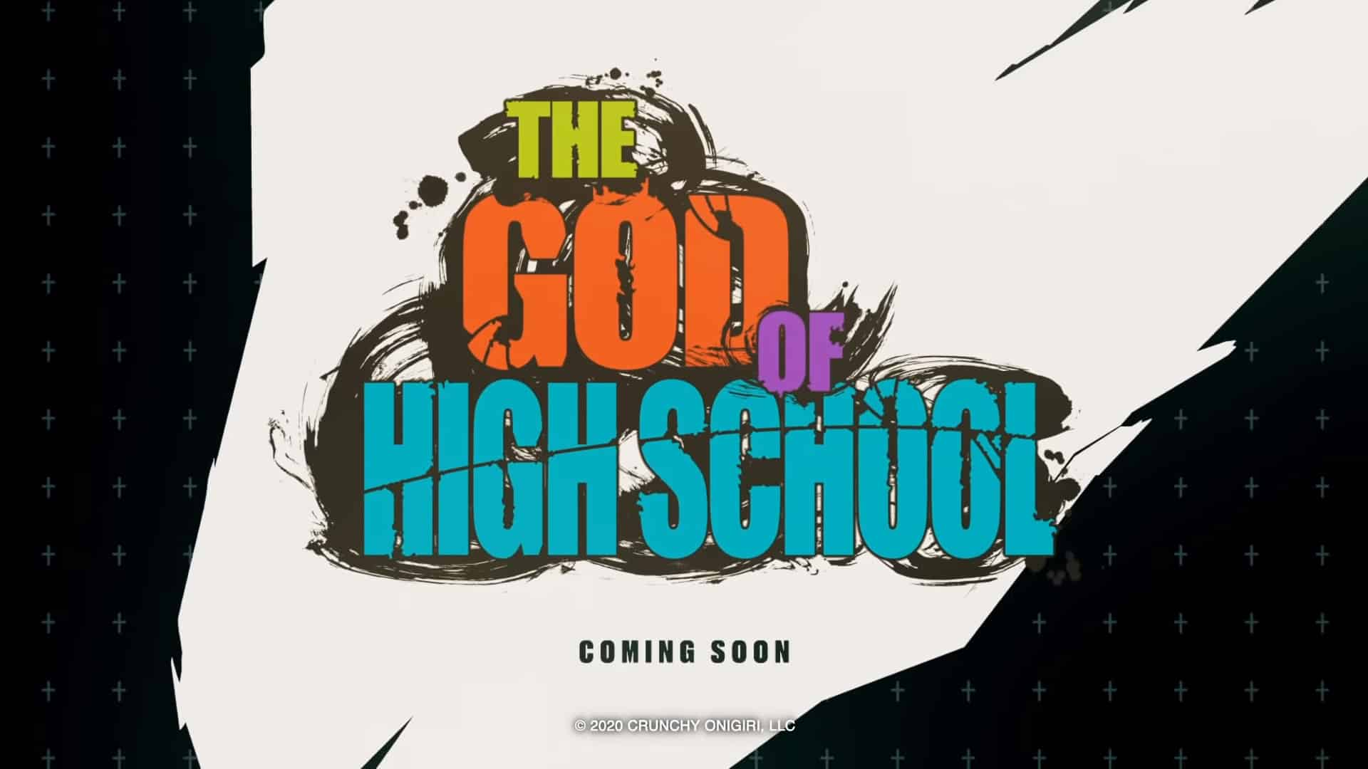 Annonce en trailer vidéo de l'anime The God of High School