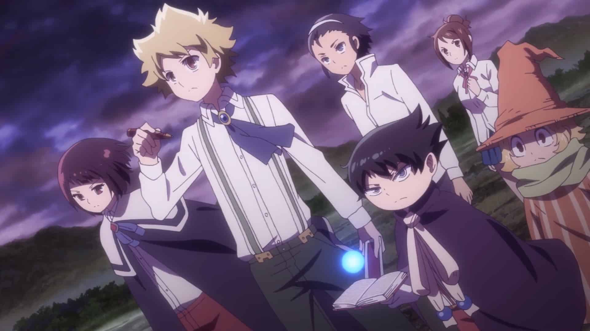 Trailer officiel pour l'anime muhyo & roji's bureau of supernatural investigation