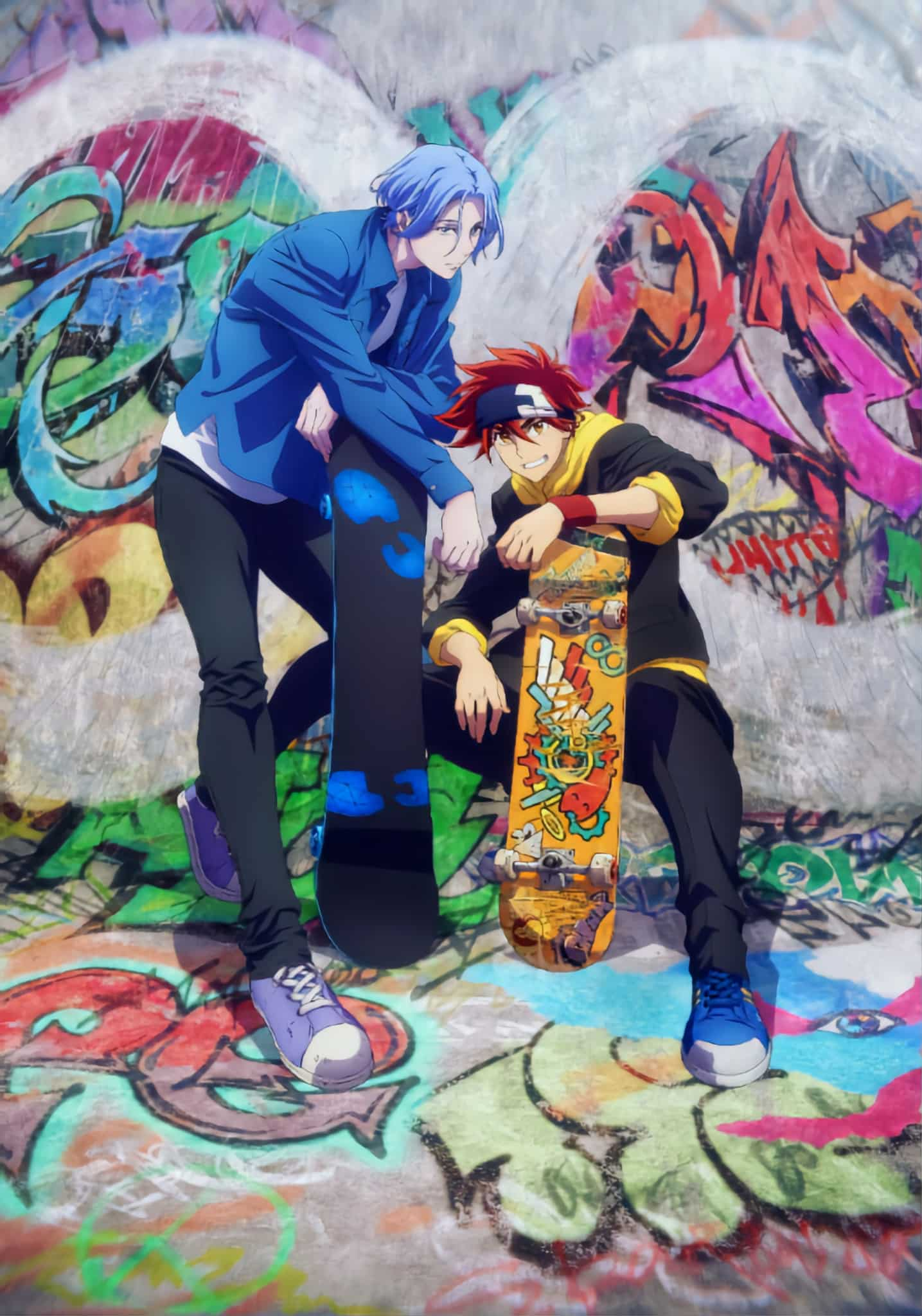 Annonce de l'anime SK8 The Infinity
