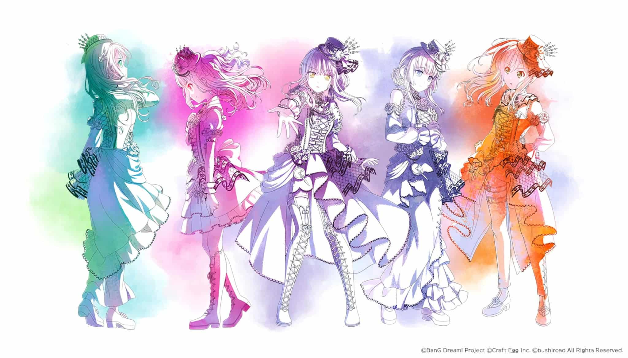 Annonce du film Bang Dream Episode of Roselia Yakusoku en date de sortie