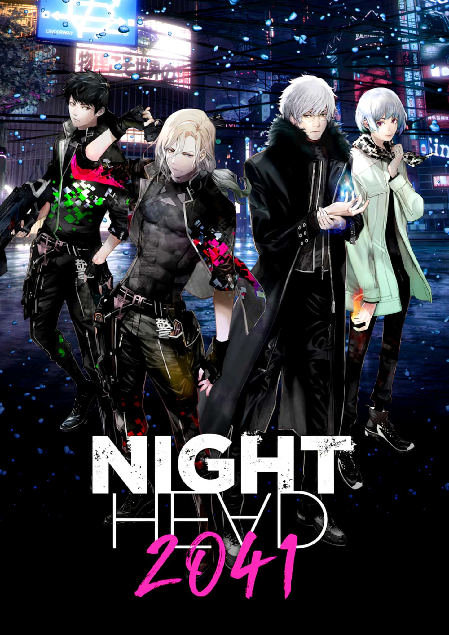 annonce de anime Night Head 2041